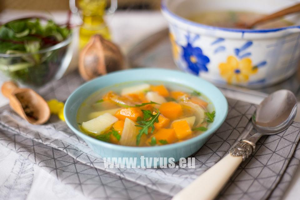 суп с тыквы