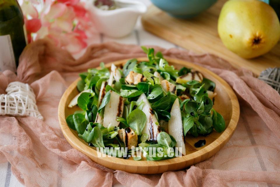 салат груша