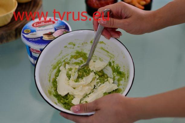 маскарпоне с авокадо
