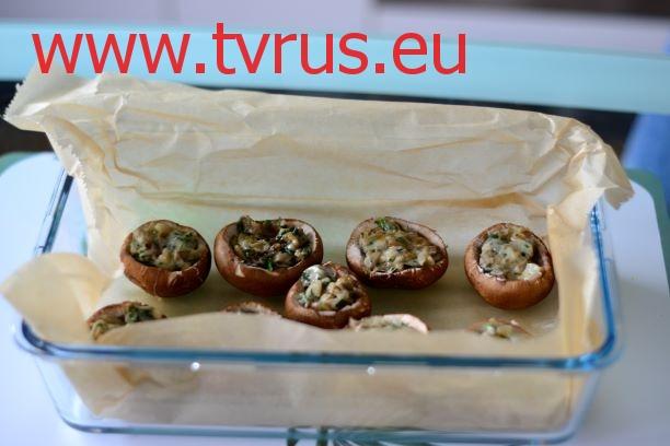 запекаем грибы