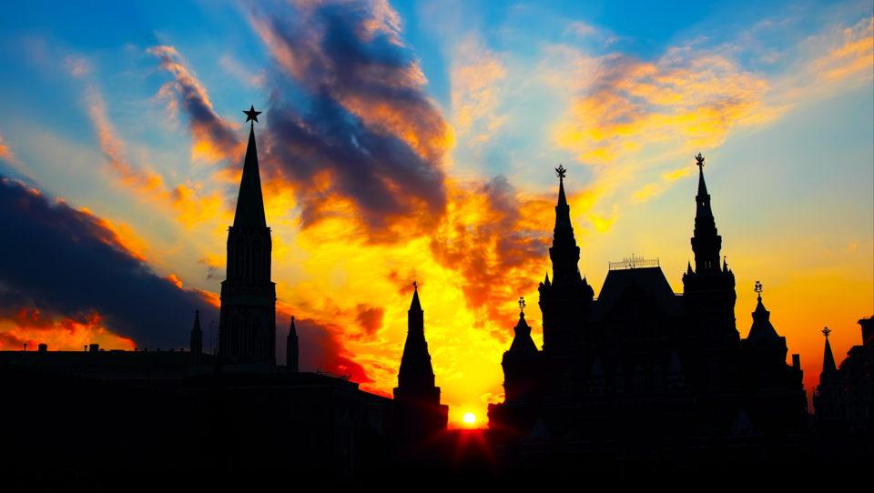 Kremlin-Silhouette
