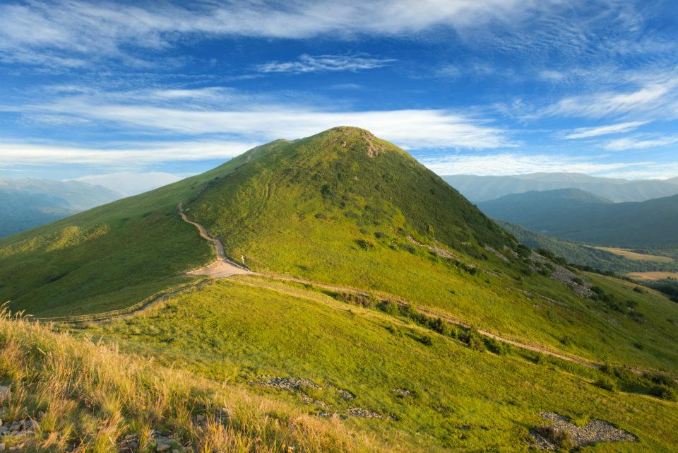 Bieszczady-mountains