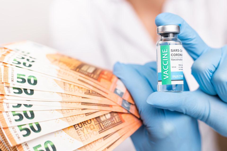 вакцинация деньги